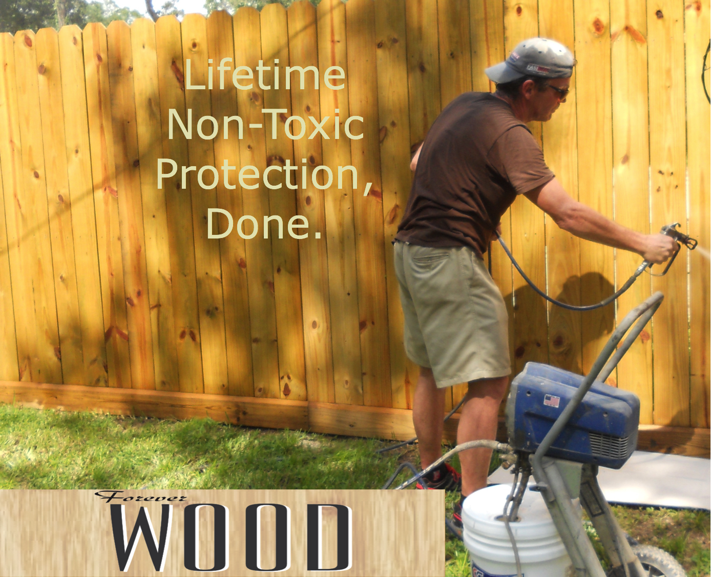 Avoid Wood Treatment That Isn't Barefoot Friendly
