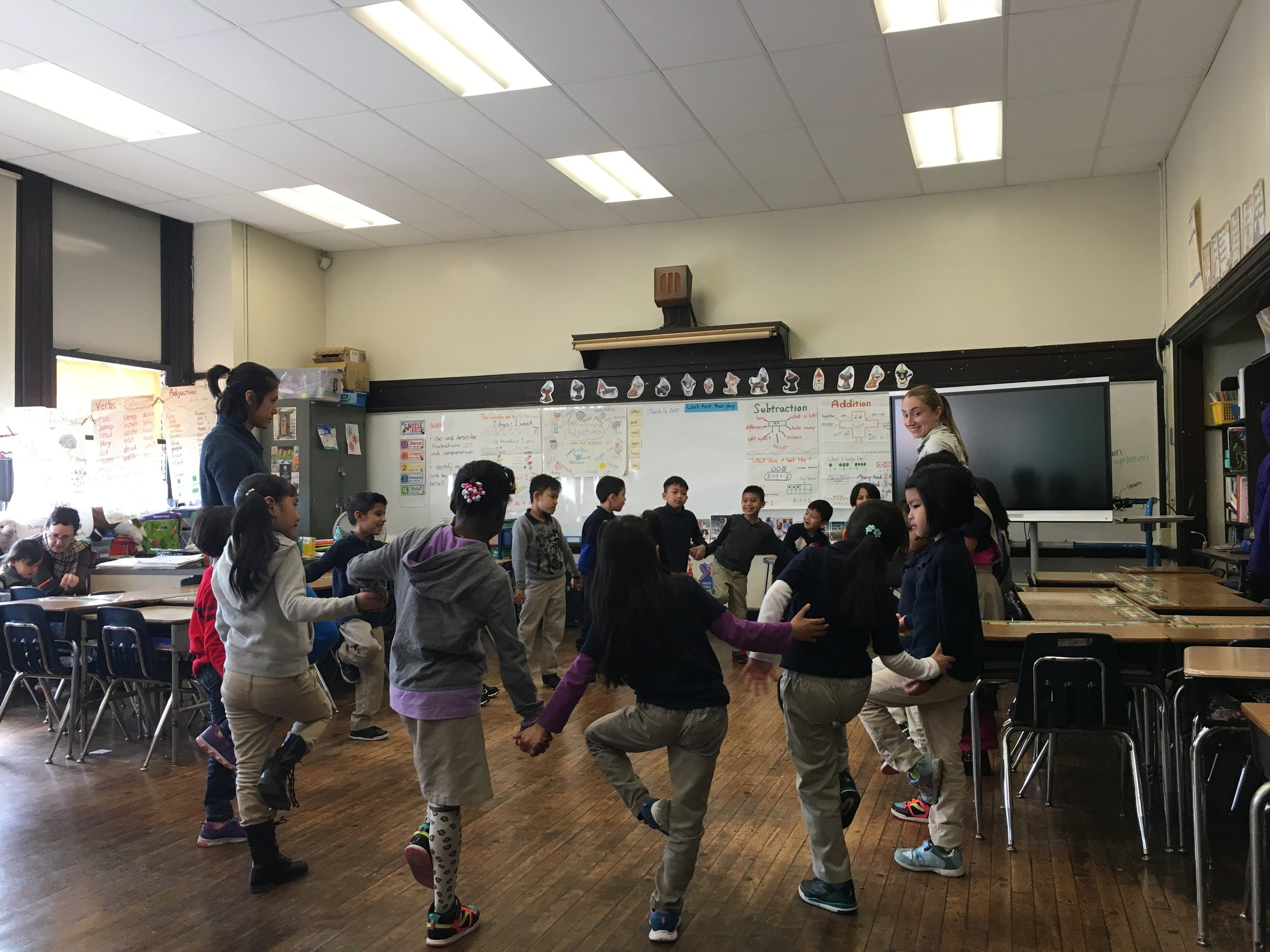 CHI Dance classes at Southwark School
