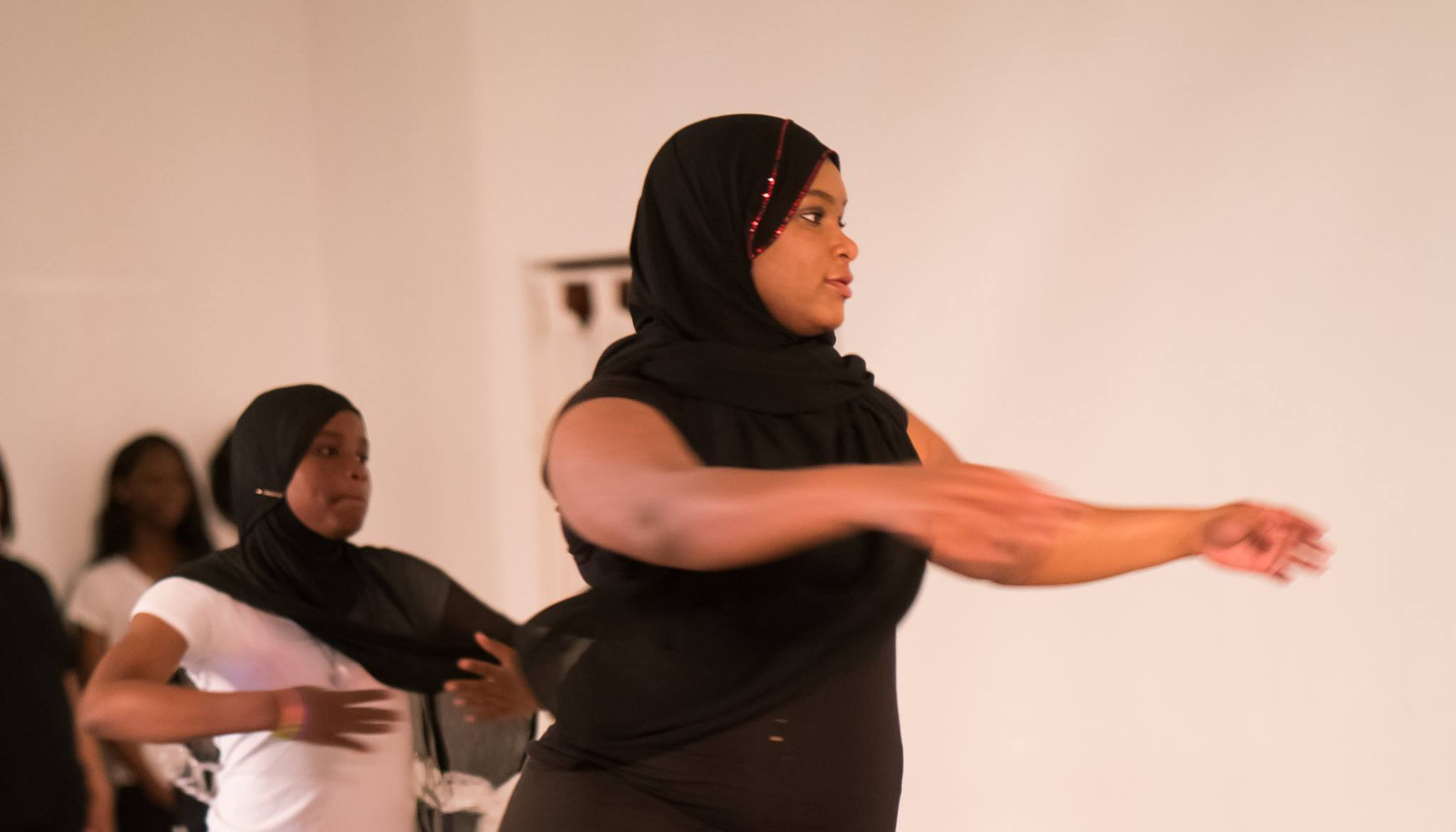 CHAD students performing at KYL/D's InHale Performance Series