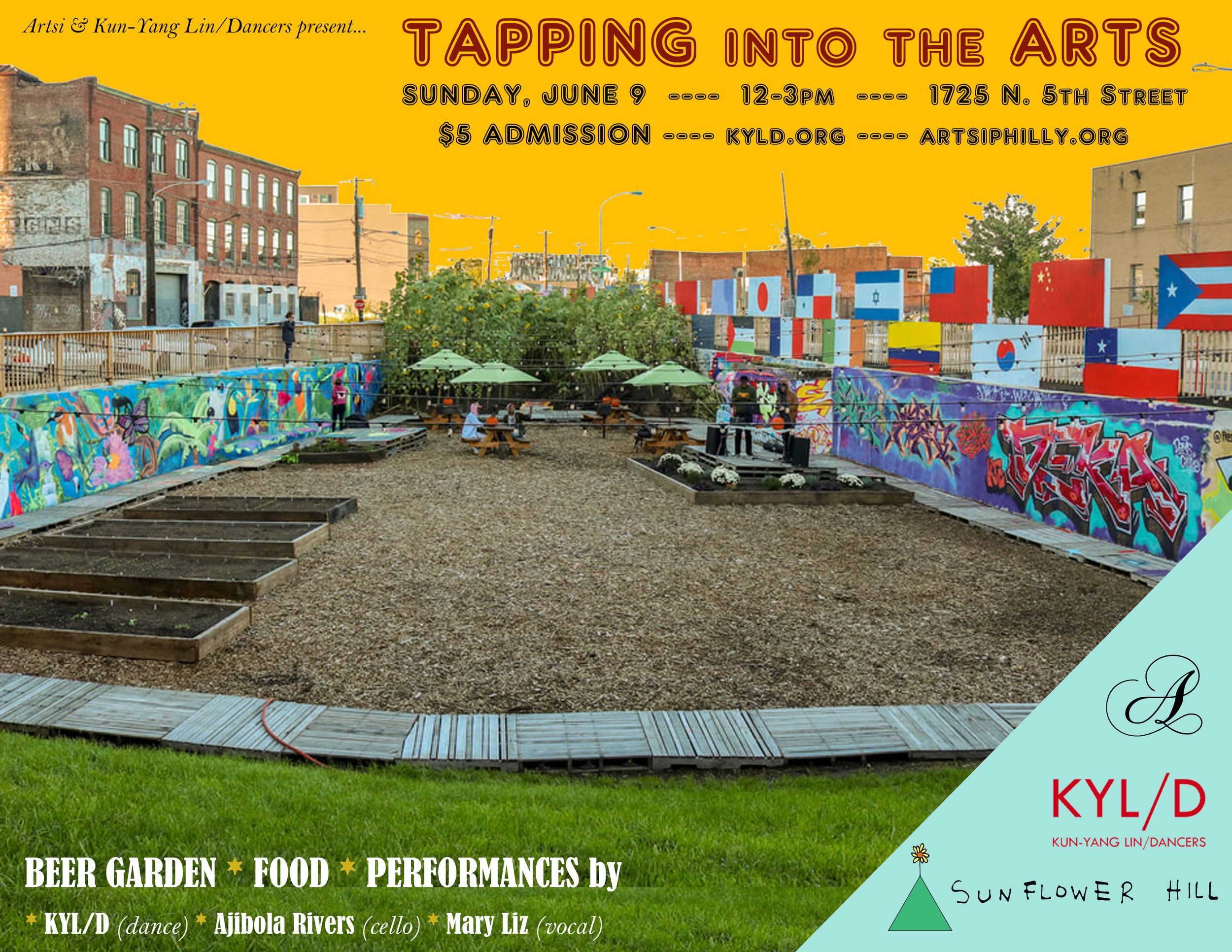 Tapping into the Arts Photo