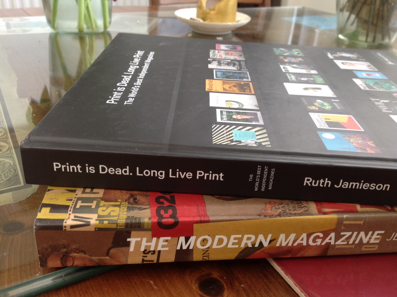 "FSM FEATURED IN BOTH ""THE MODERN MAGAZINE"" AND ""PRINT IS DEAD. LONG LIVE PRINT.'"