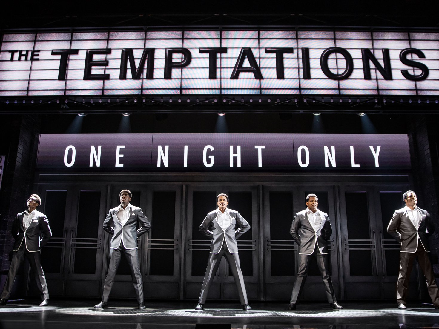 "YOUR NEXT CHOICE IS TO SEE ""AIN'T TOO PROUD, THE LIFE AND TIMES OF THE TEMPTATIONS"" R MEZZ FOR $160"