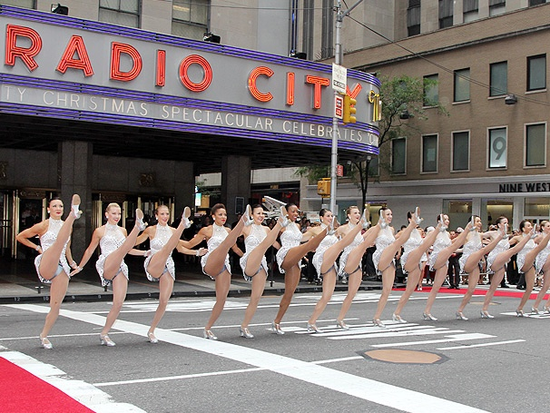 OR, YOU COULD CHOOSE TO SEE THE ROCKETTES CHRISTMAS SPECTACULAR IN THE ORCHESTRA FOR $205