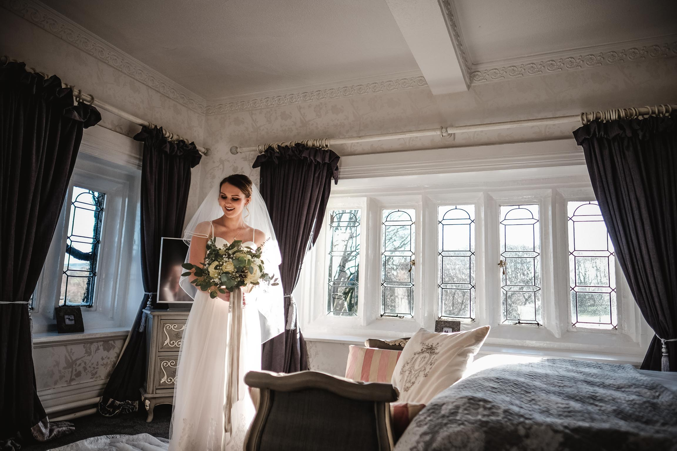 Stirk house clitheroe lancashire wedding photographer covering a documentary photography style  (25 of 85).jpg