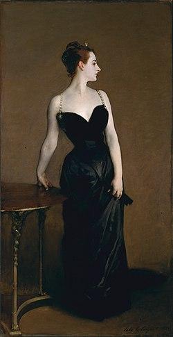 """Madame X"" by John Singer Sargent, 1844. - Metropolitan Museum of Art, New York"