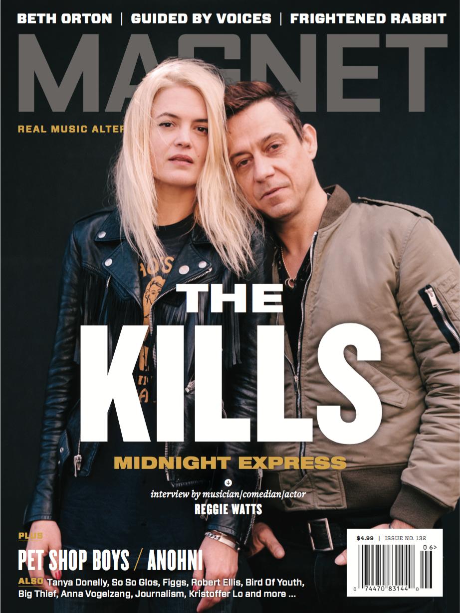 Alison Mosshart & Jamie Hince of The Kills