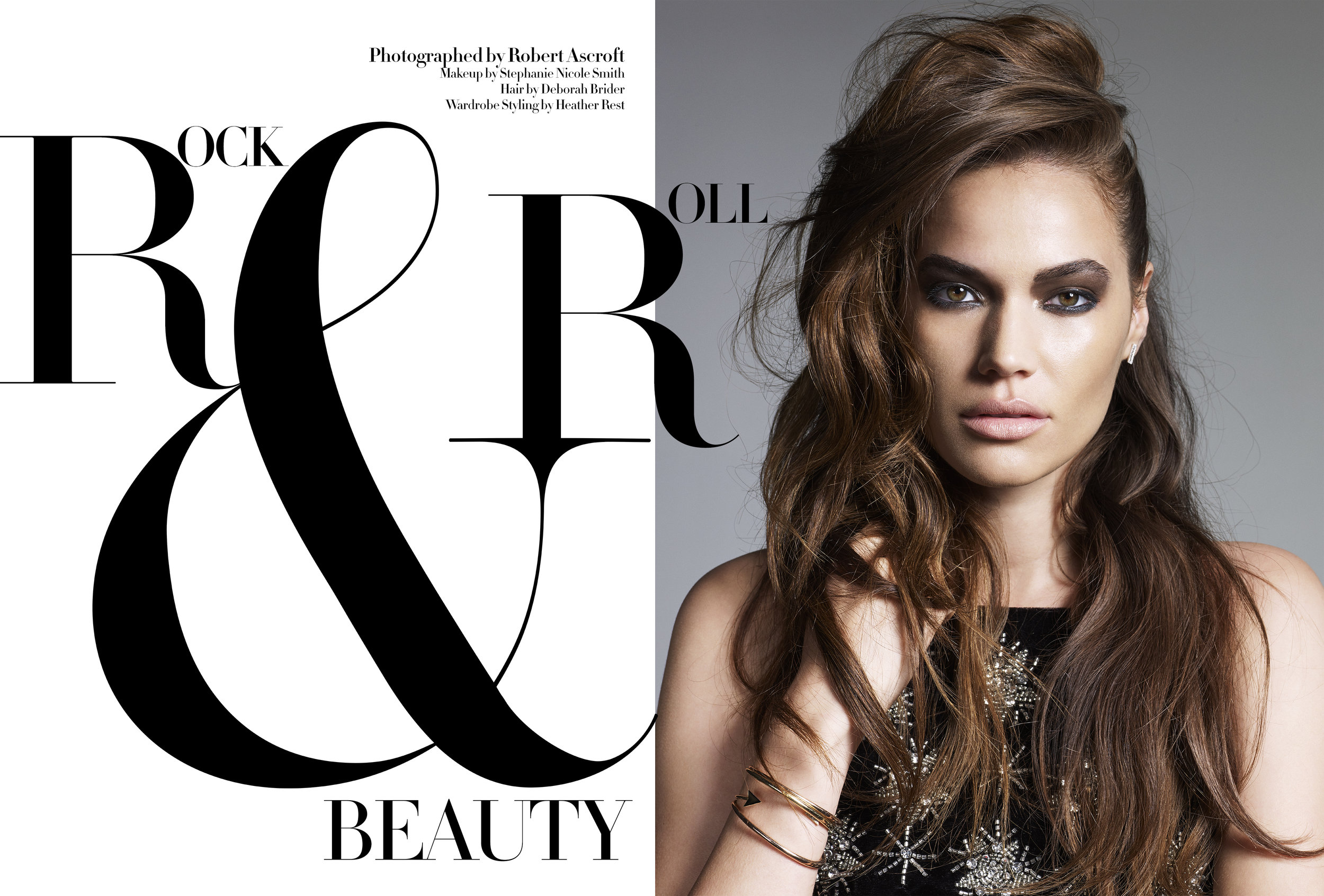 Tribute Hair Magazine: Rock & Roll Beauty