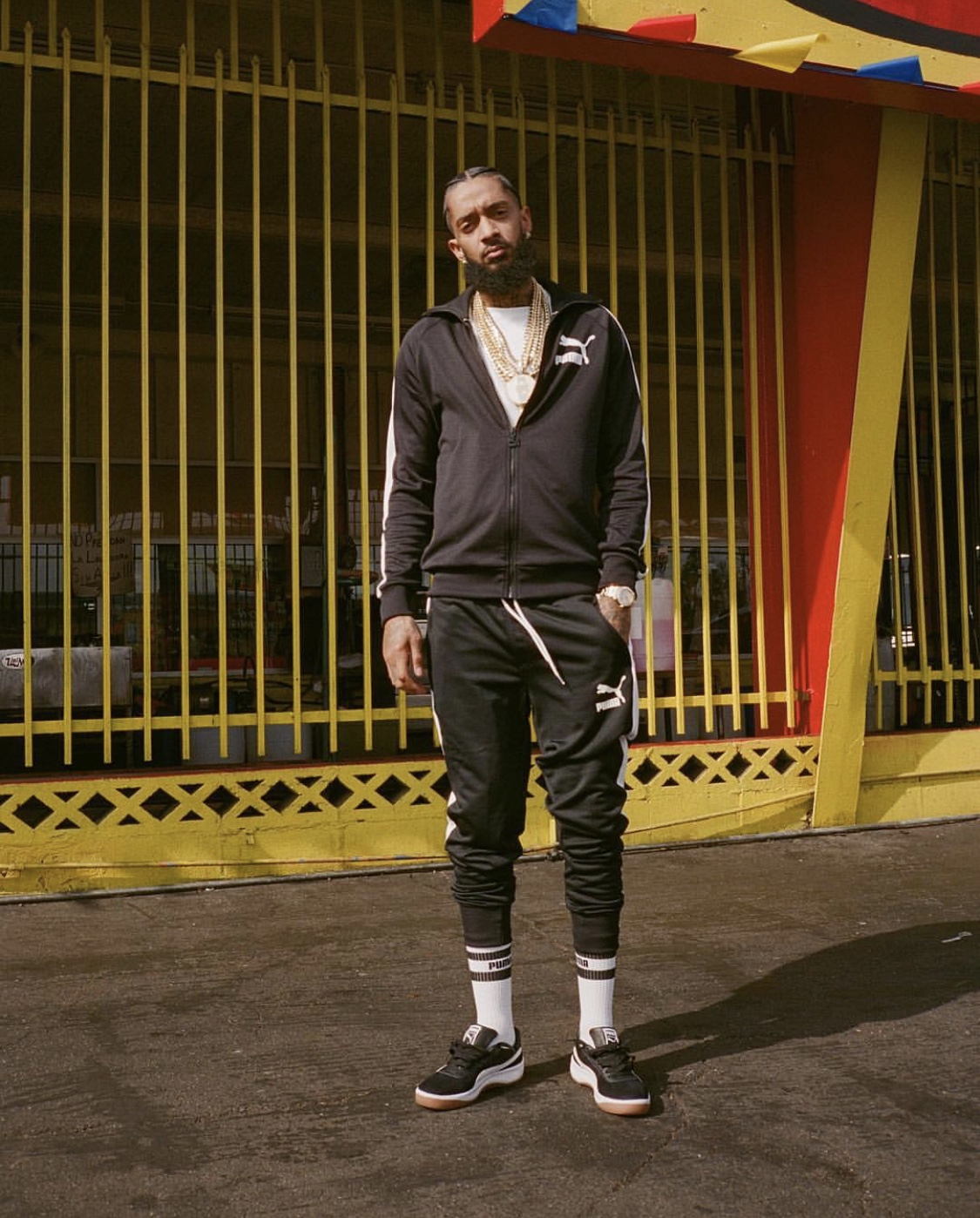 Nipsey Hussle for Puma