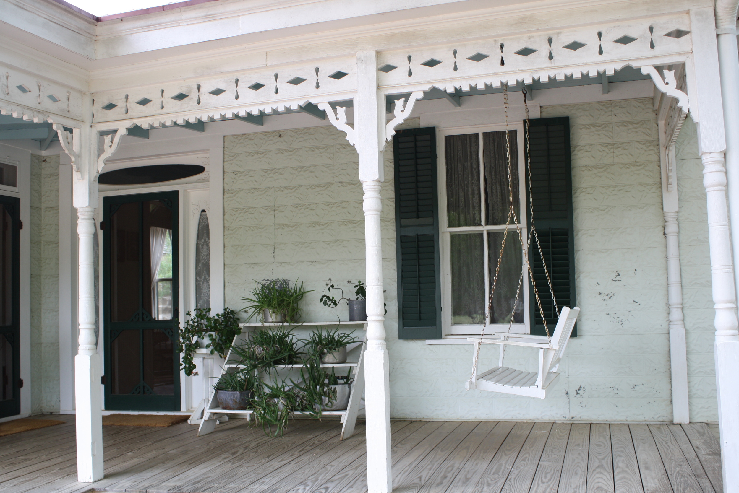 Big front porches were a must back in the day