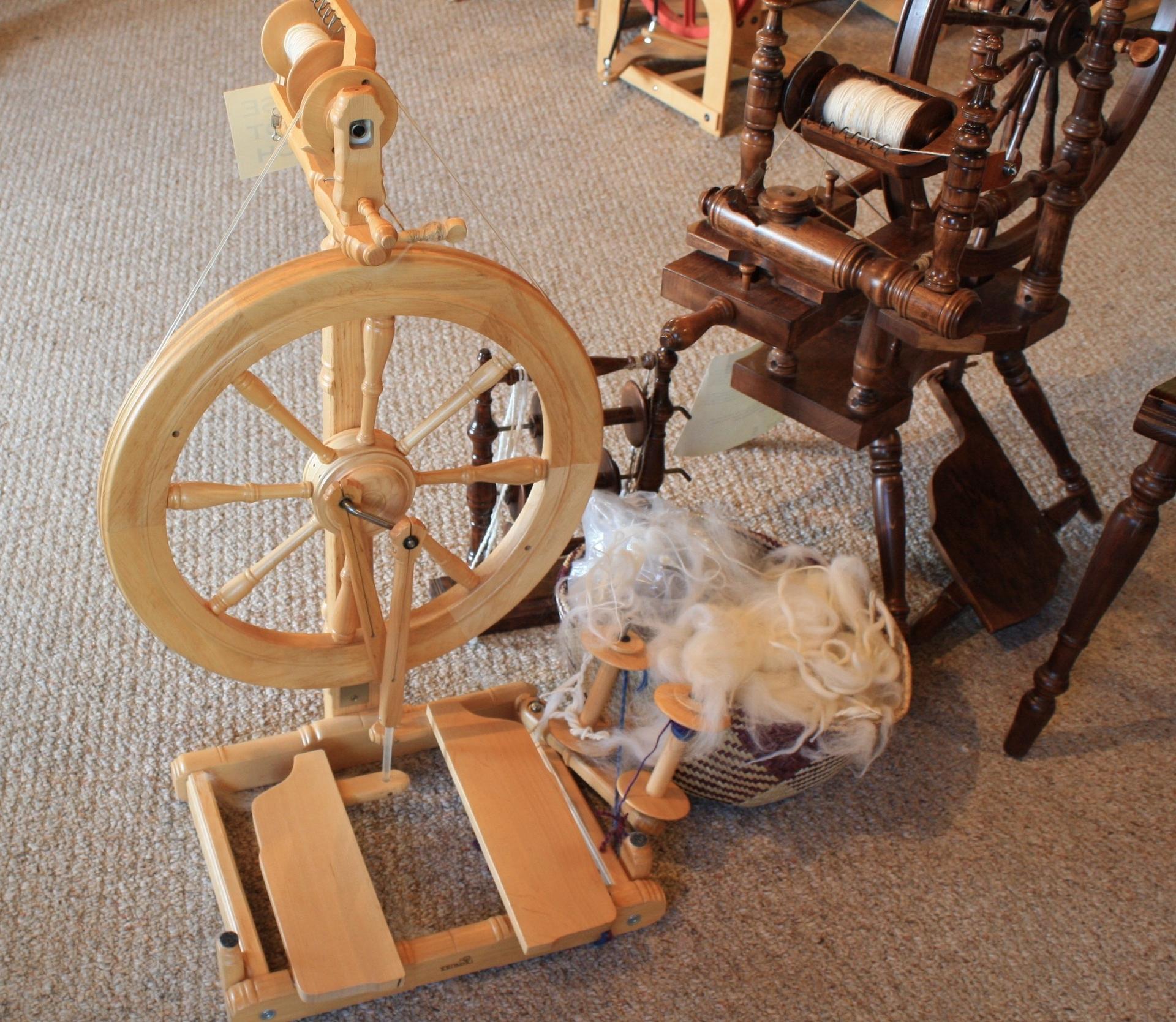 Inside the yarn shop