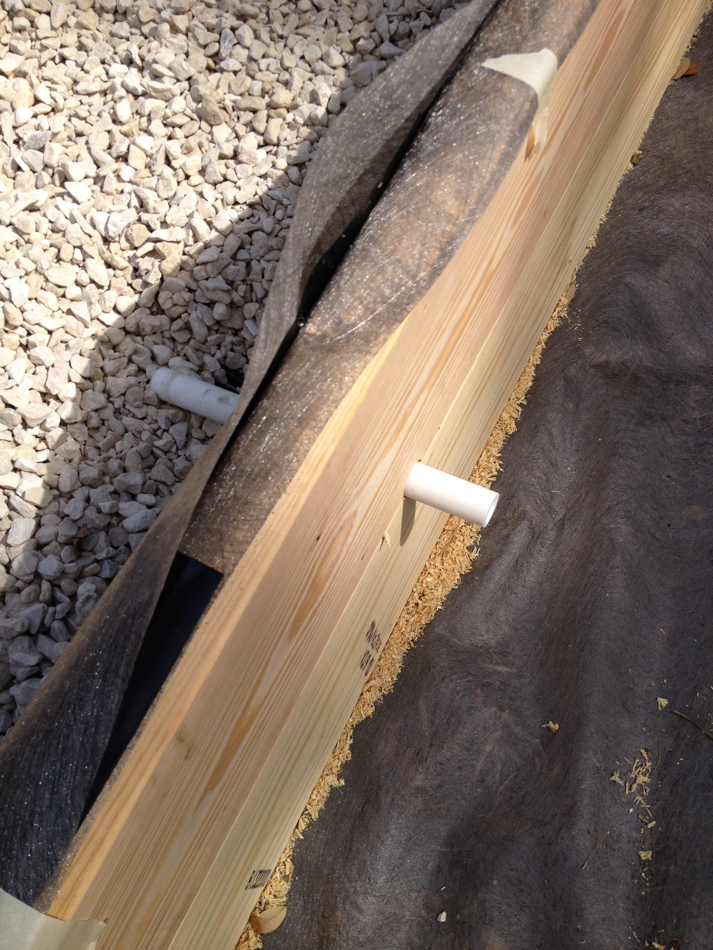 Another pic of the drain pipe