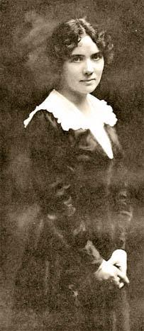 Women's Institute founder Mary Brooks Picken, c. 1918;  public domain image