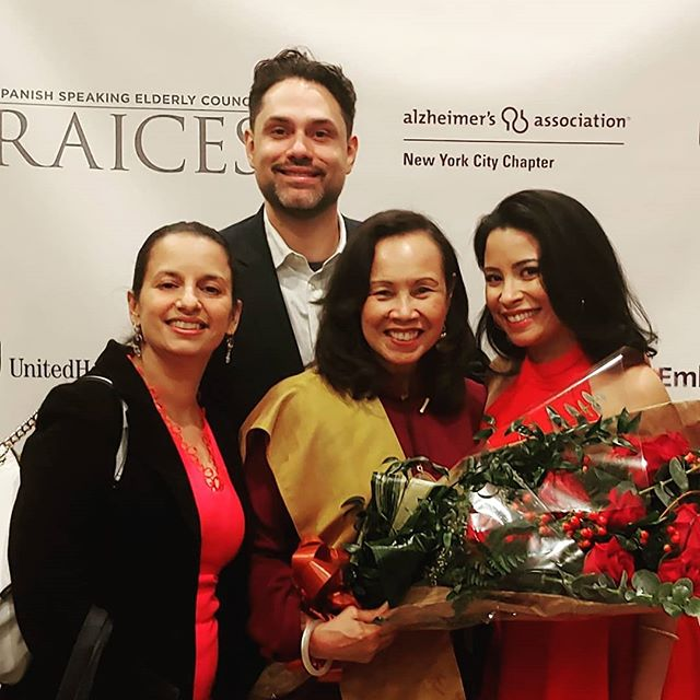 It was an immense honor to attend last night's #Gala for #Raices41  We were blessed with the task of creating the #tribute video for the late great #LuisGardenAcosta #founder of @elpuentepresente and we were truly humbled by the opportunity to follow his journey in order to share his story - a story everyone should know. It is always a inspiring to be in the presence of Frances Lucerna and hear her wisdom.  Thank you so much @hispanic_federation for reaching out and recommending us to Raices. What an amazing organization!
