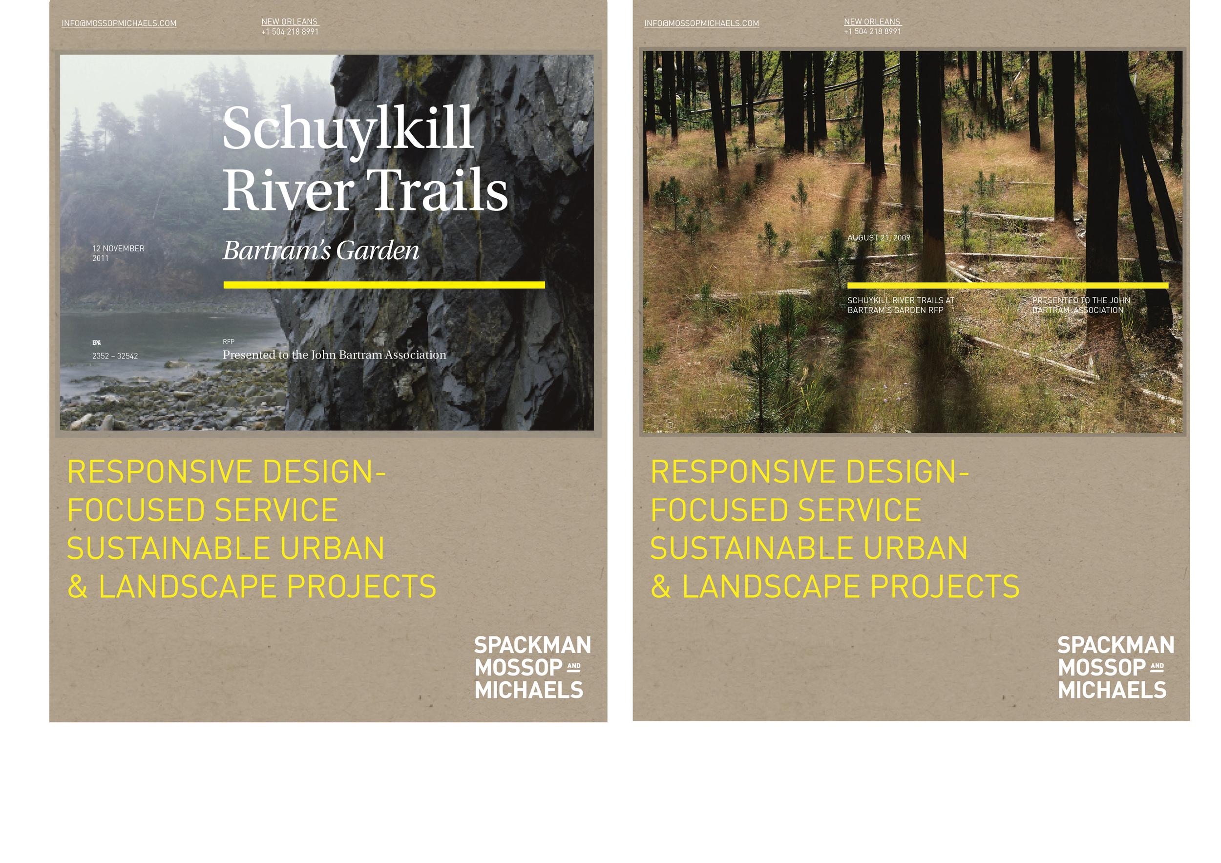 RFP Modular covers, screenprinted and debossed