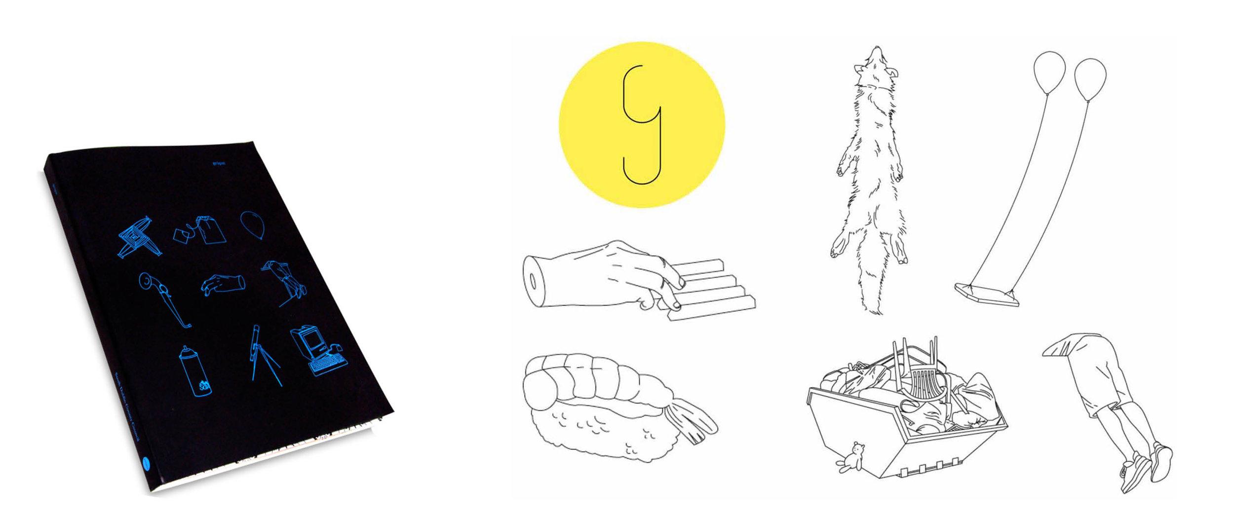 Illustration and book design for sound artist Jennifer Walshe, Ireland