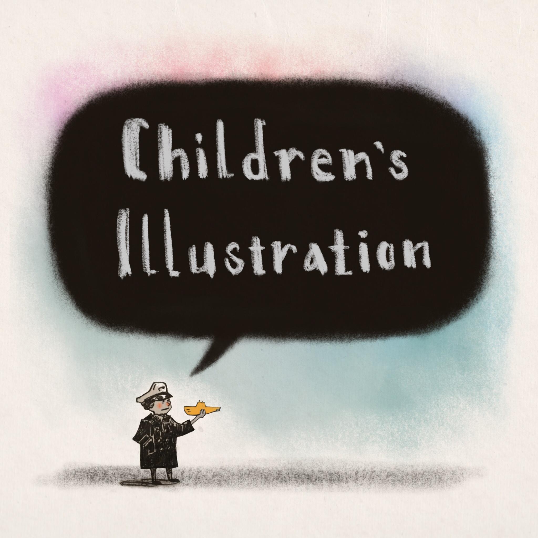 Children's illustration: book, product, etc.