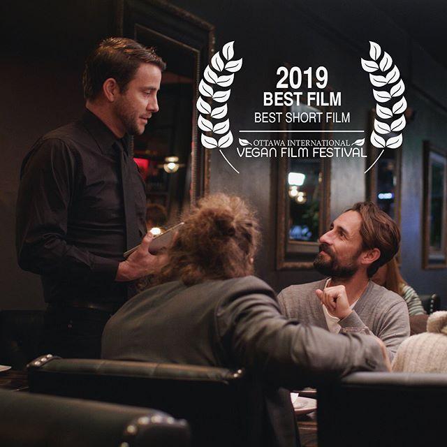"Great news! 'Casa de Carne"" won Best Short Film at the 2019 @veganfilmfest ! Click link in bio to watch! — #casadecarne #animalrights #shortfilm #plantbased #vegansofig #filmmaking #filmfestival #filmdirector #friendsnotfood #animalliberation #psa"