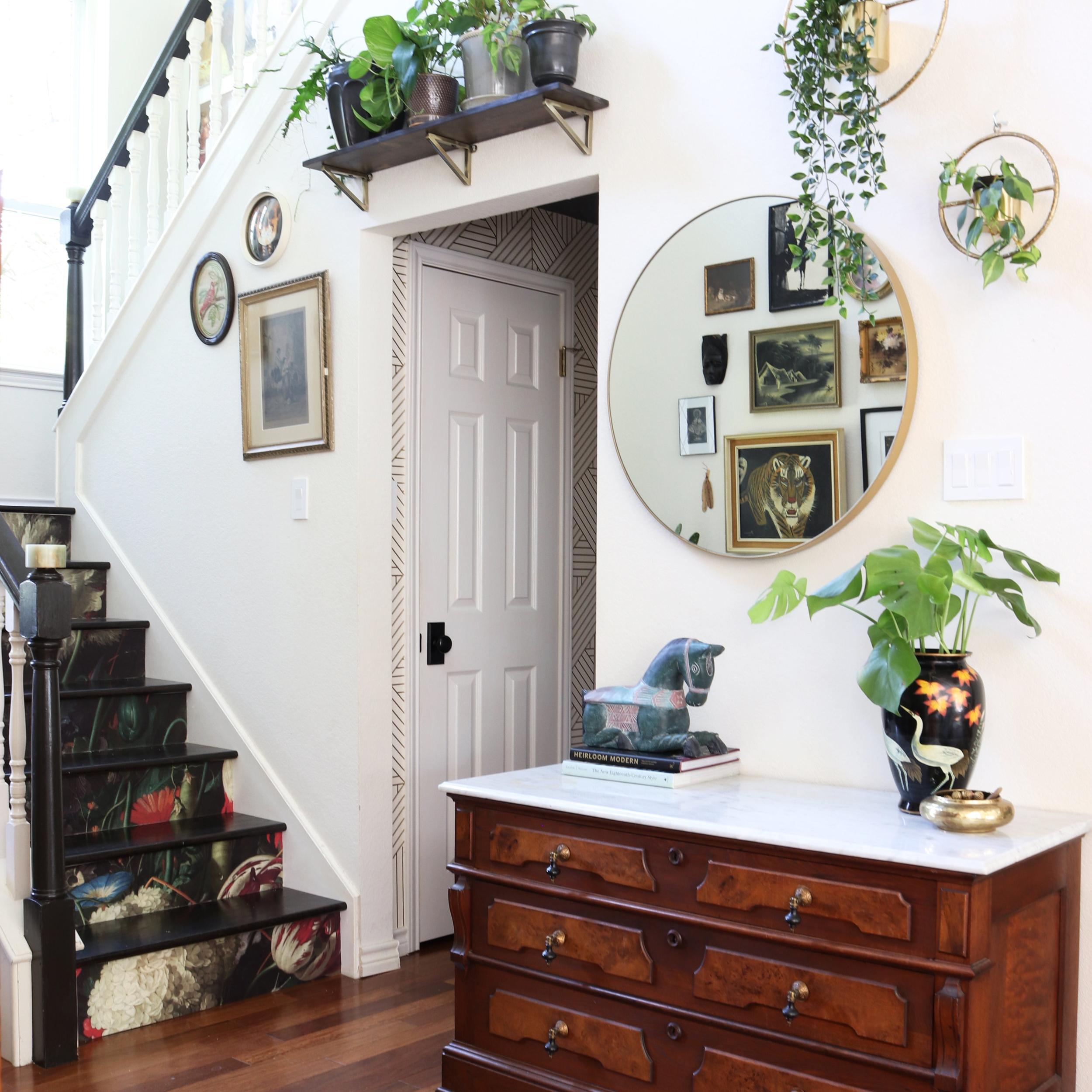 kristin laing wallpapered stairway.jpg