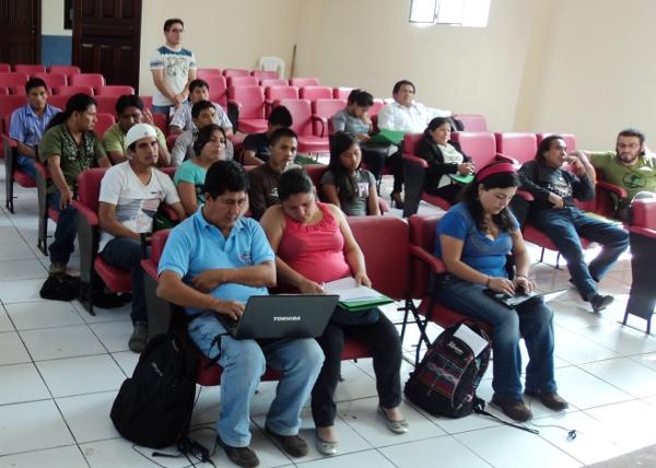 Taller de comunicación comunitaria en Sucúa