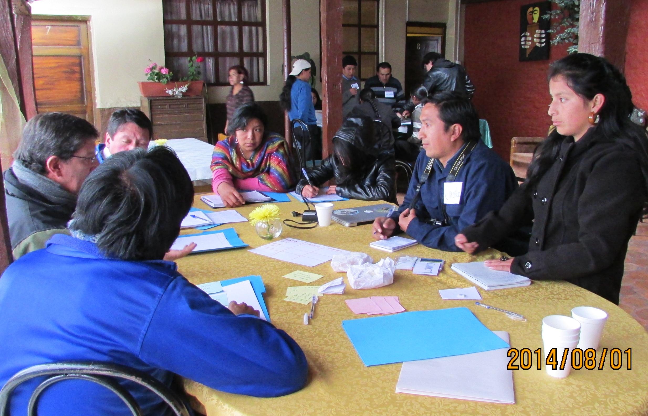 Talle de comunicación comunitaria en Cuenca