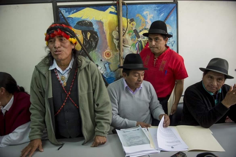Los representantes de las agrupaciones indígenas rechazan los hechos ocurridos en la comunidad de tundayme