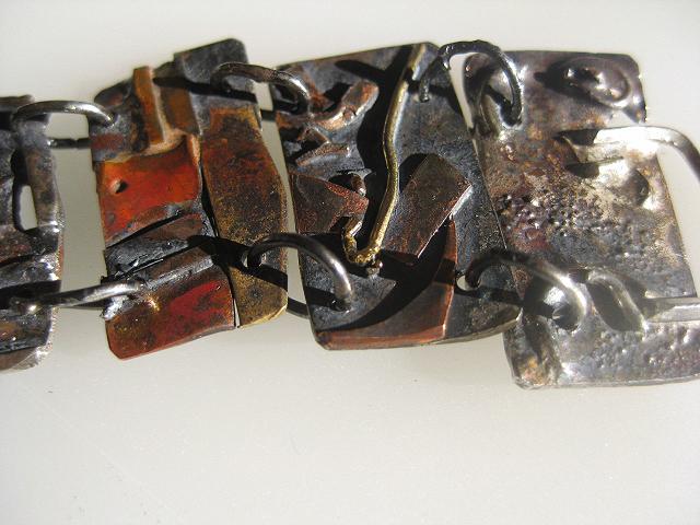 Panel Bracelet , detail  $400.00