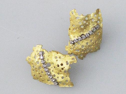 Gold Wisp earrings $4500