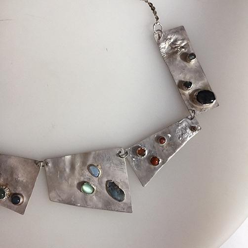 Panel Necklace detail