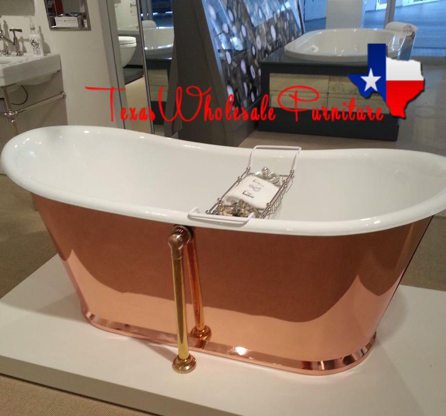 Cast Iron & Copper Bathing Tub
