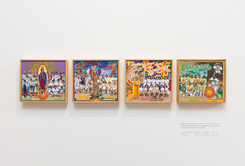 ∞ MEXICAN AMERICAN BASEBALL (view paintings)