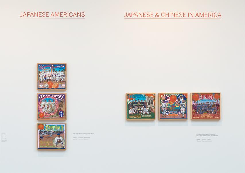 ∞ JAPANESE AMERICANS (view paintings)          ∞ JAPANESE & CHINESE IN AMERICA (view paintings)