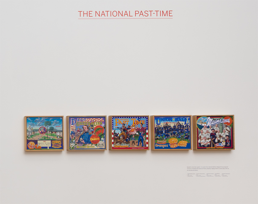 ∞ THE NATIONAL PAST-TIME (view paintings)