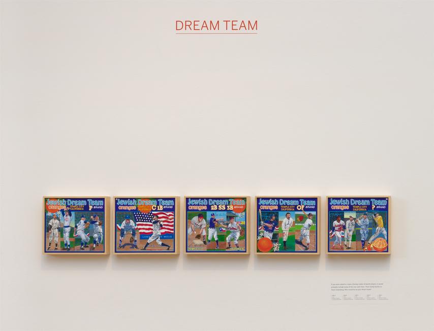 ∞ DREAM TEAM (view paintings)