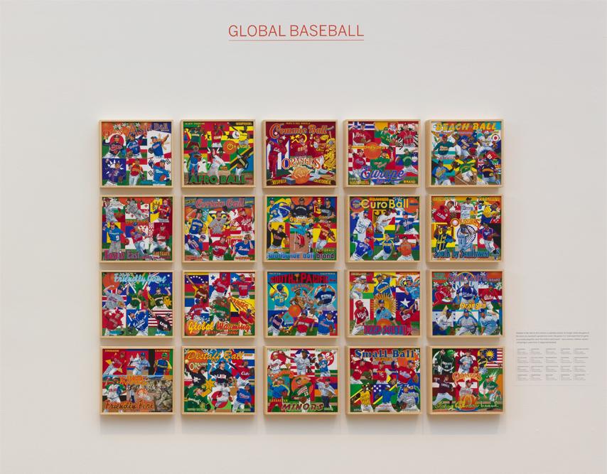 ∞ GLOBAL BASEBALL (view paintings)
