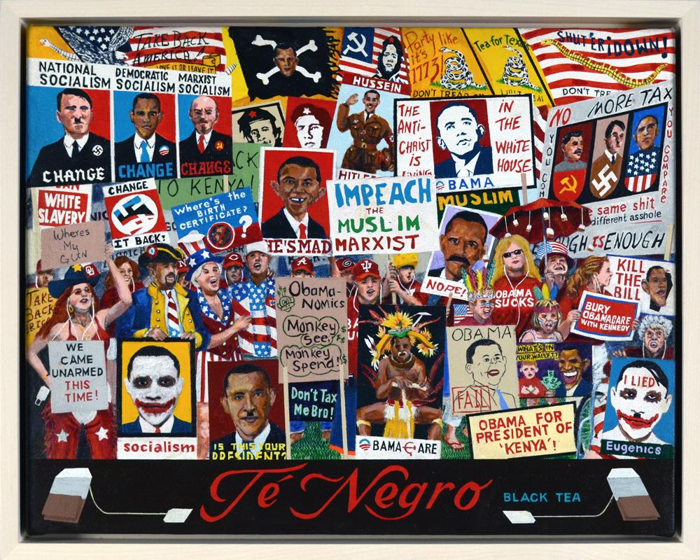 """acrylic on canvas 11"""" x 14"""" (2012)"""