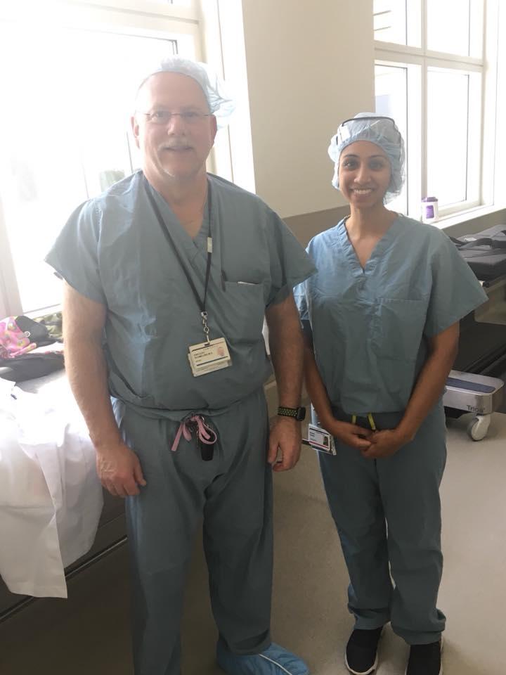 Shivani Sadwal -  Orthopaedics  Medical School:  Alabama College of Osteopathic Medicine  Preceptor:  Dr. Gregory Schmeling  NDSI Location: Medical College of Wisconson