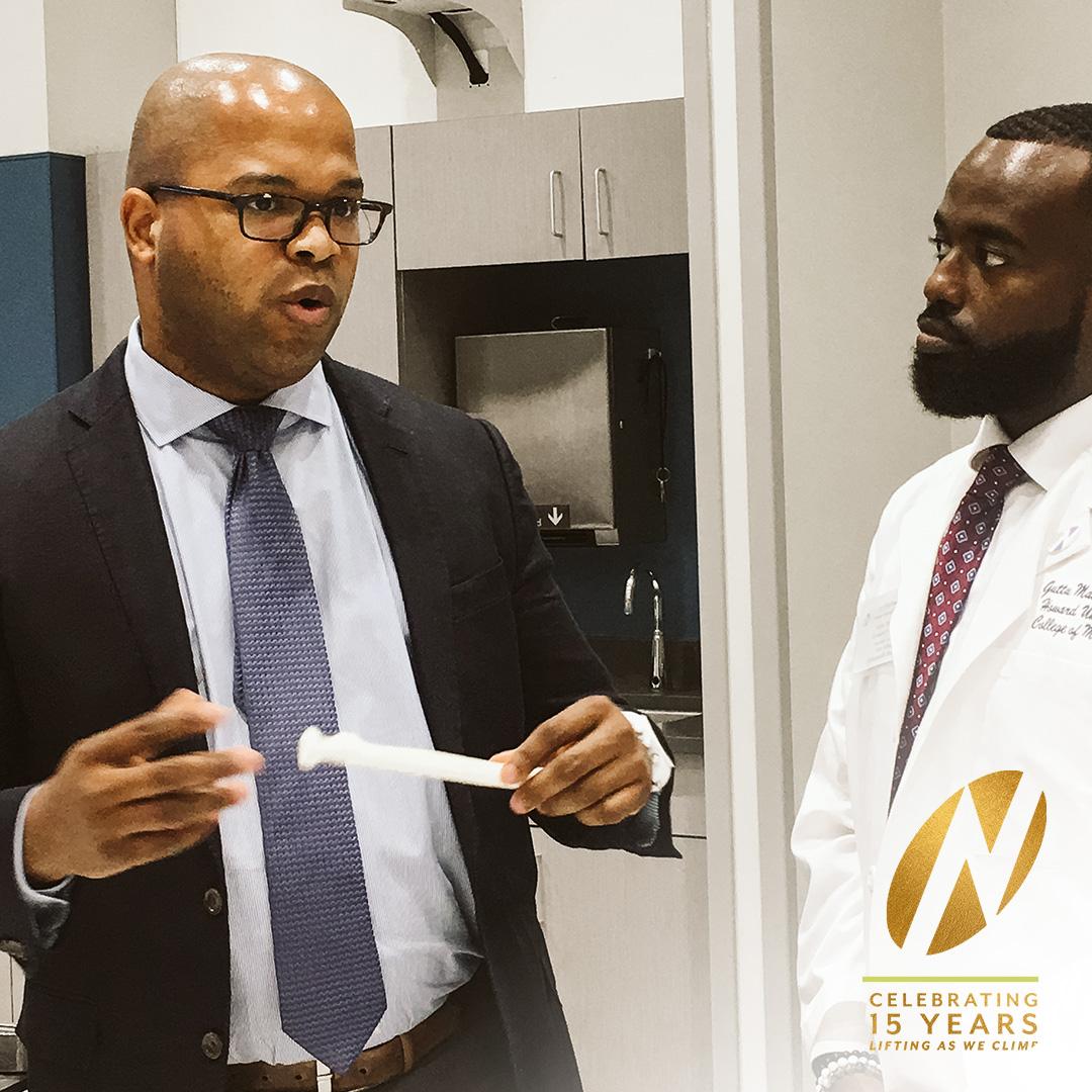 Nth Alumni Dr. Socrates Brito and Guttu Maskalo