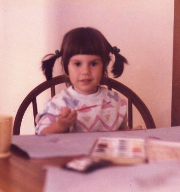 Margot Miller age 4