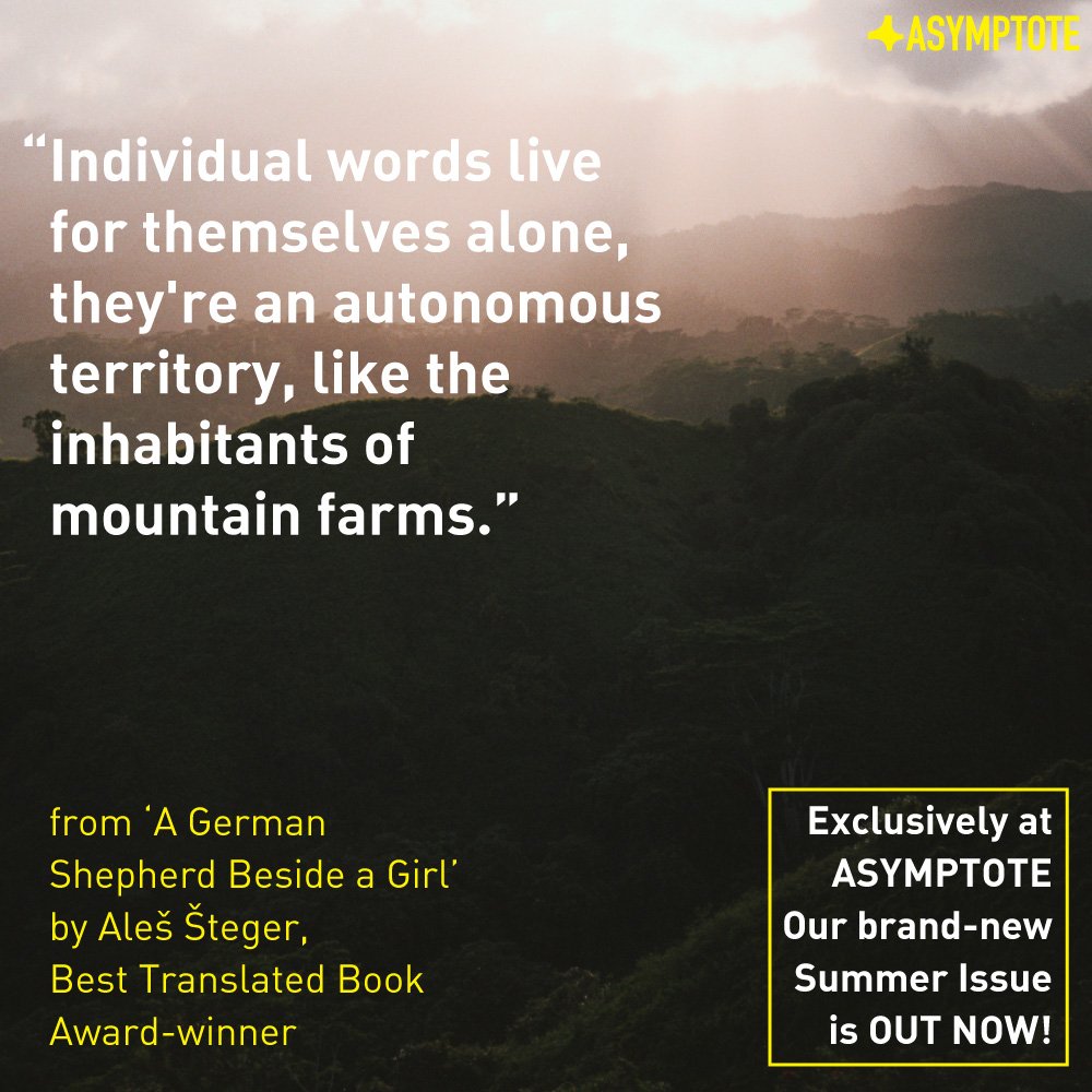 Asymptote  Summer 2015 Issue Quote Poster (feat. artwork by Cody Cobb)