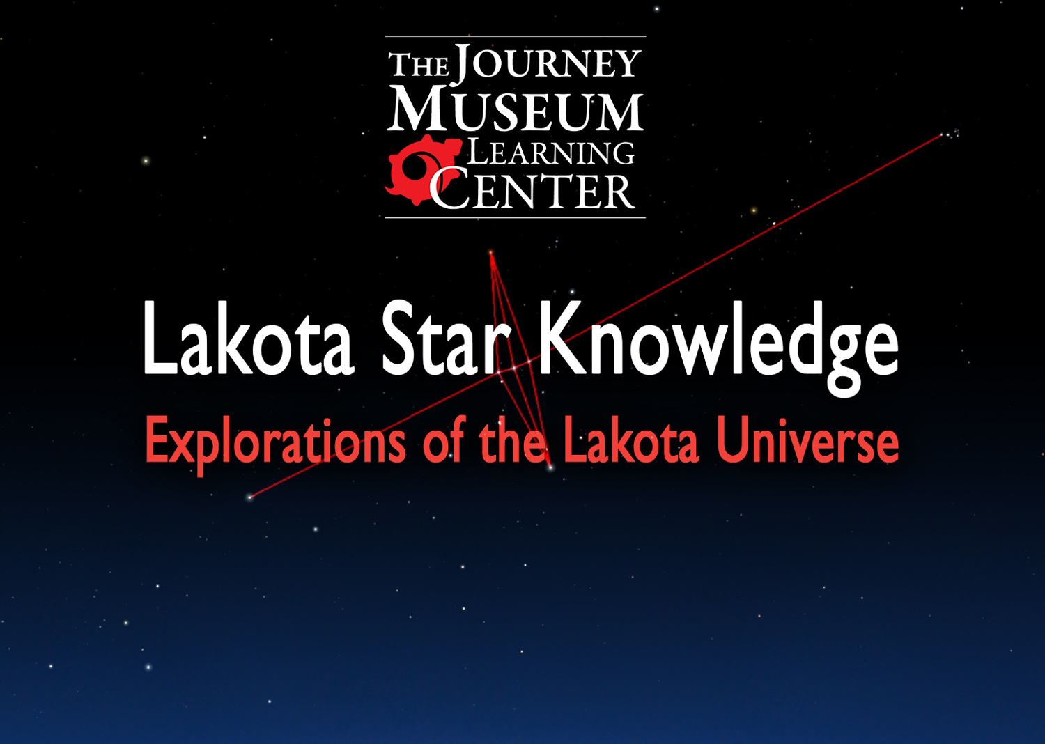 """""""Lakota Star Knowledge"""" is a 27-minute film which links the Greco-Roman view of constellations with that of traditional Lakota culture. It was directed by filmmaker Sam Hearst with the assistance of CAIRNS (The Center for American Indian Research and Native Studies) under the direction of Dr. Craig Howe, and with additional support from Oglala Lakota College.    The film features Dr. Howe and middle school students from Spring Creek School on the Rosebud Reservation. The film was funded by NASA. DVDs are available for purchase."""