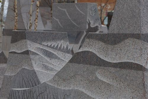 The Sculpture Project:  Passage of Wind and Water's  Badlands Tapestry