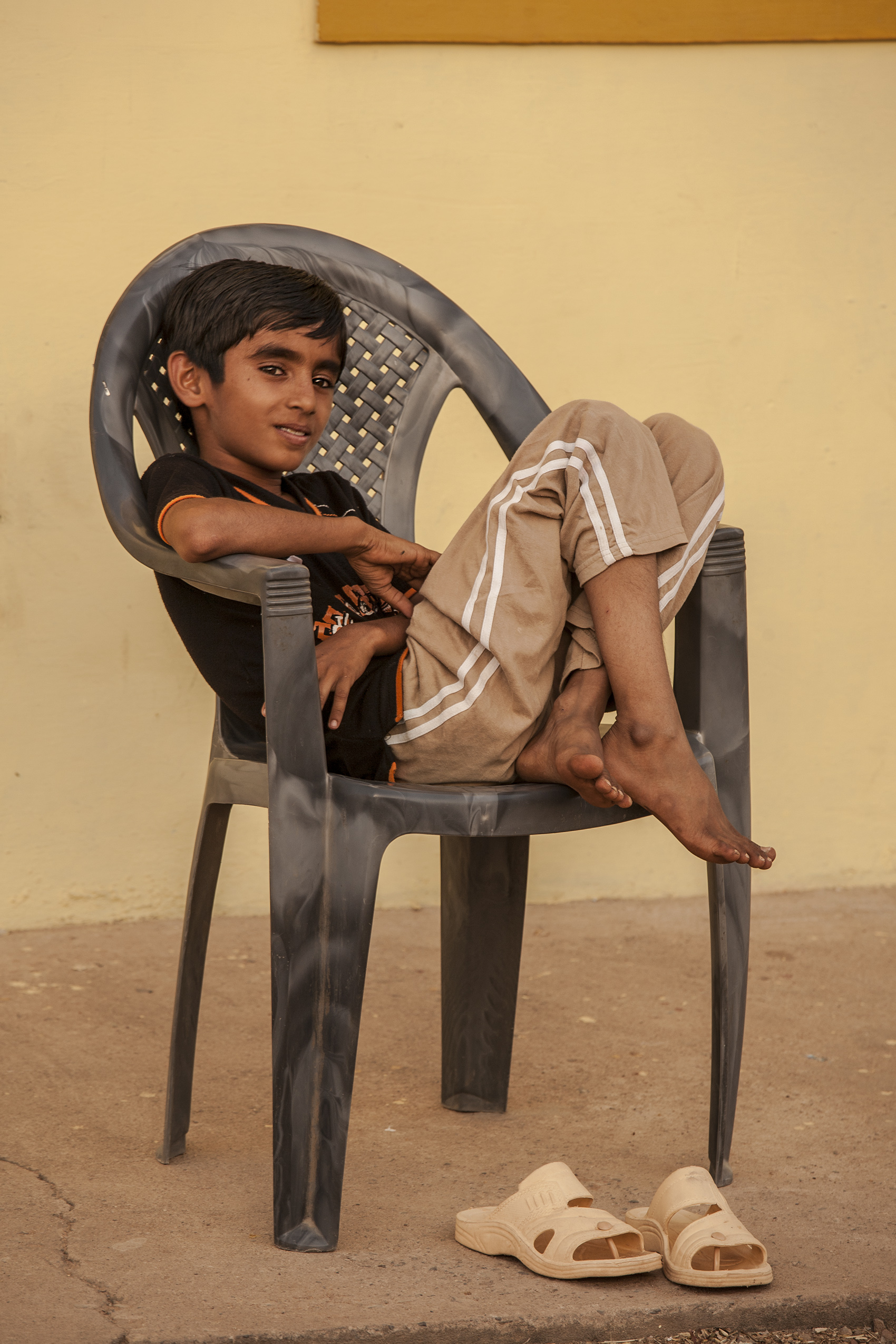 Dalit boy, Gujarat, India