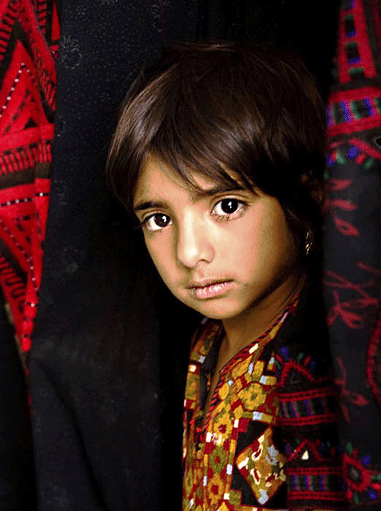 Baluchi girl, Iran