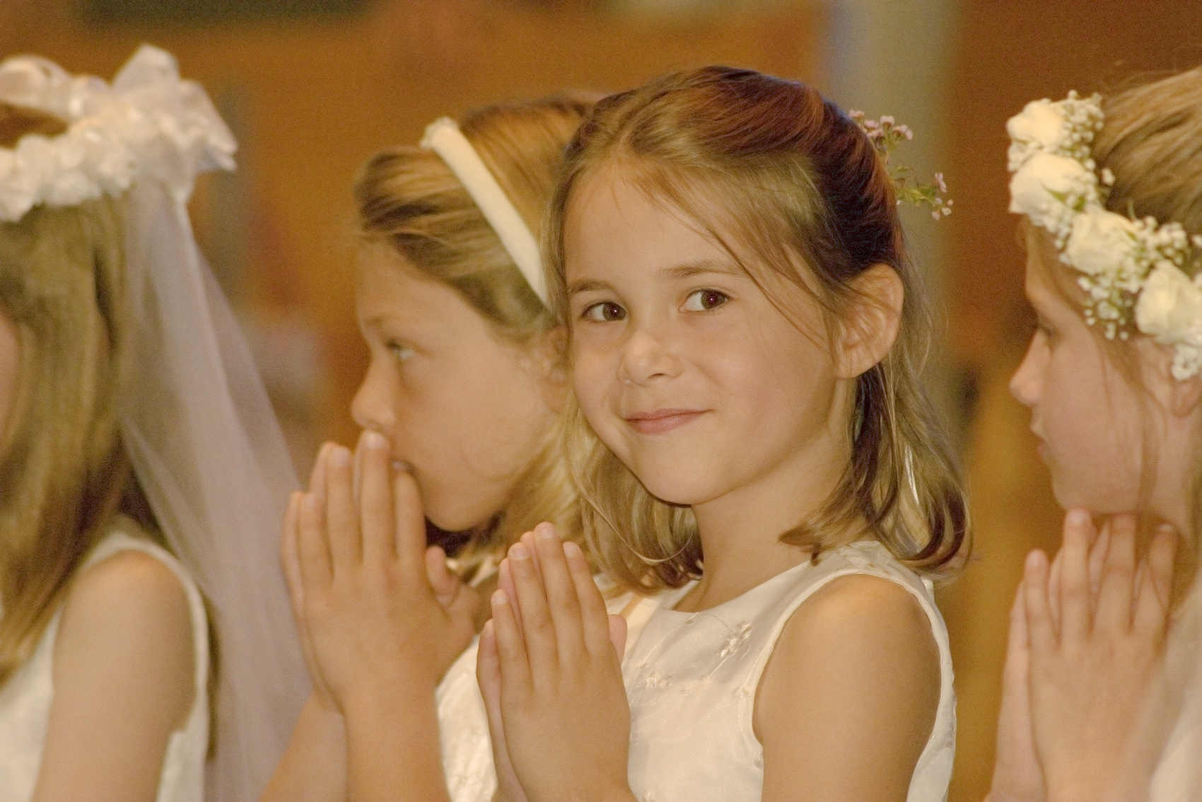 First communion, America