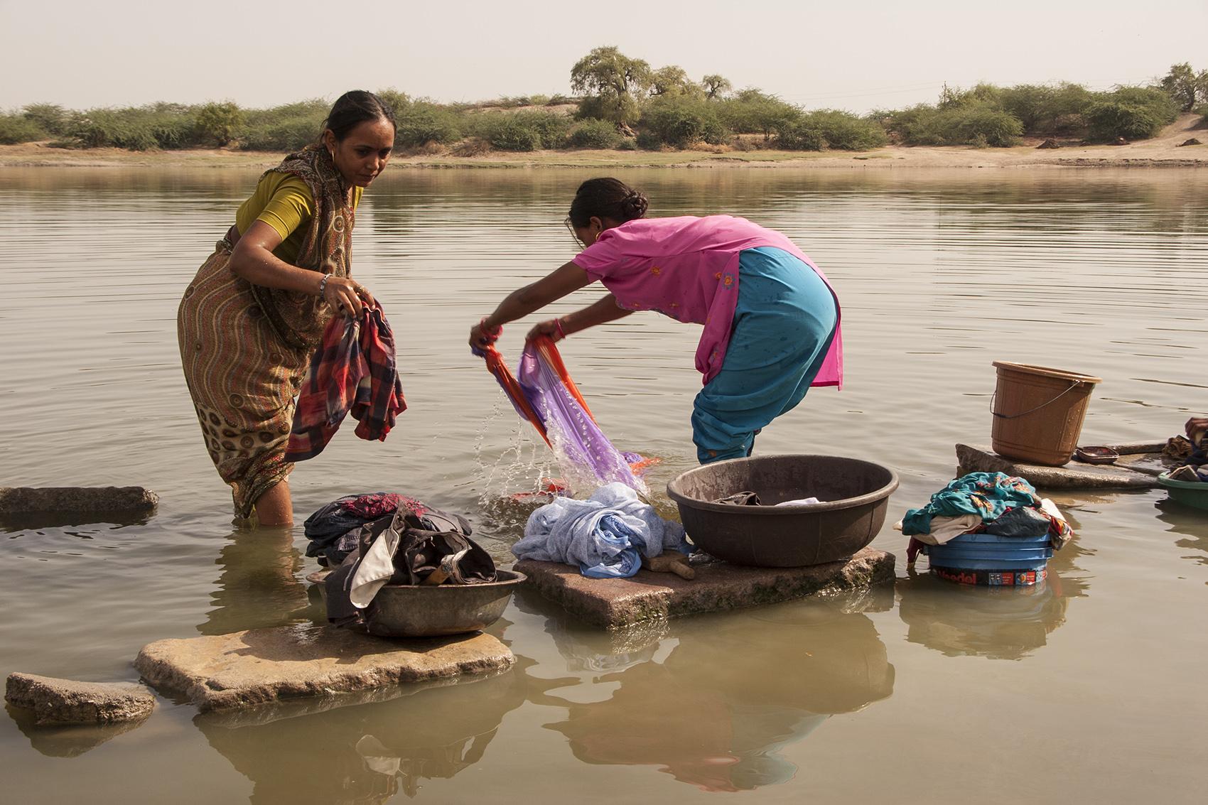 Laundry, Goriyawad, India