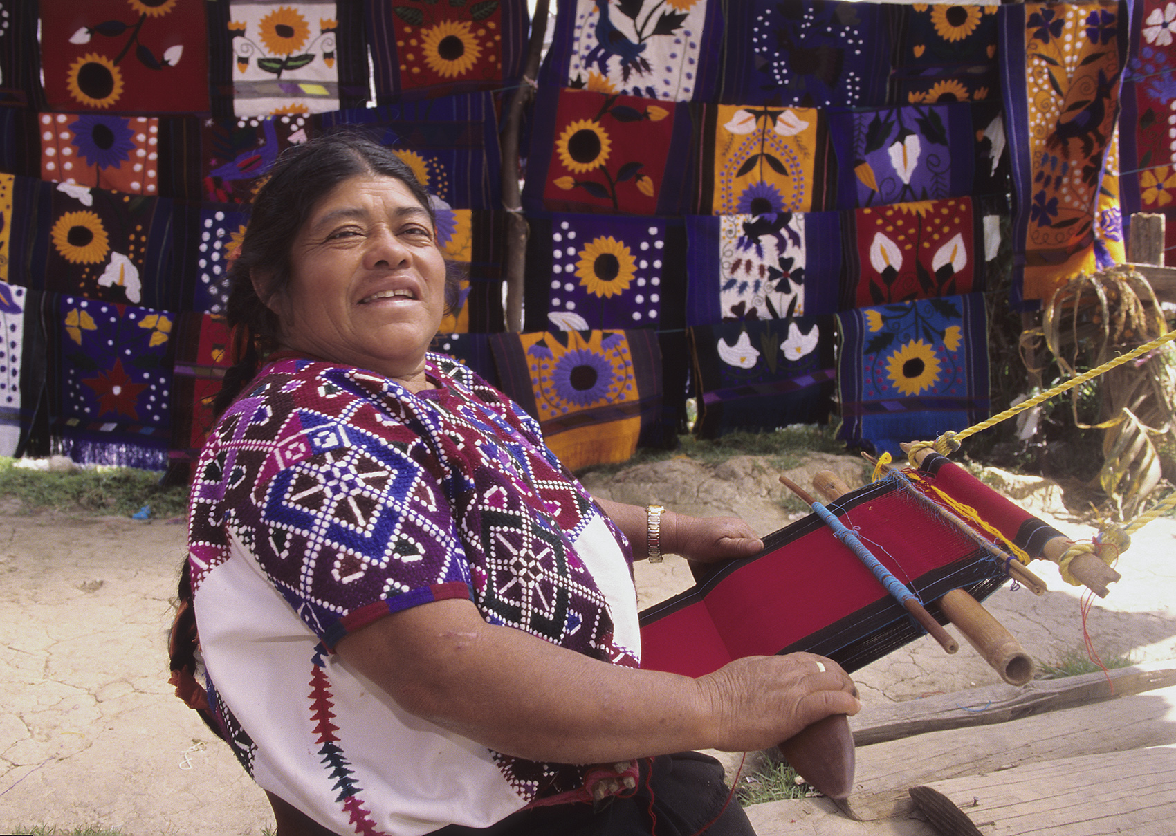 Mayan threads, Chiapas, Mexico