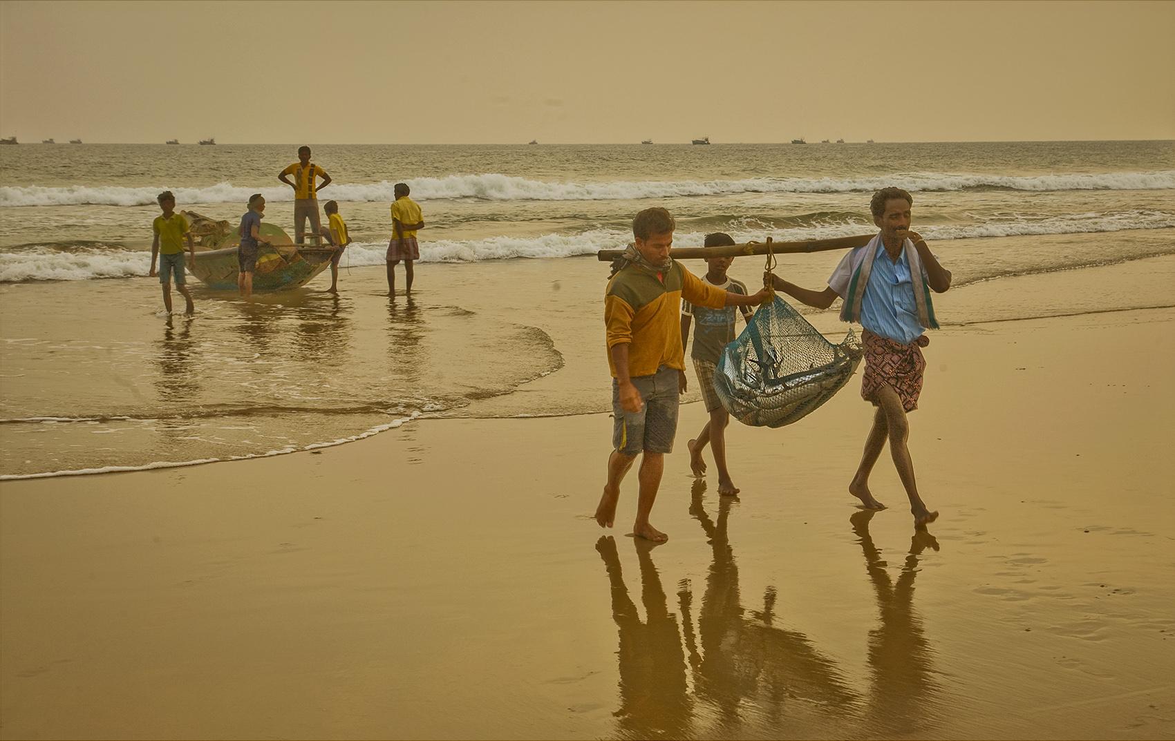 Fishermen, Chandrabhaga, India