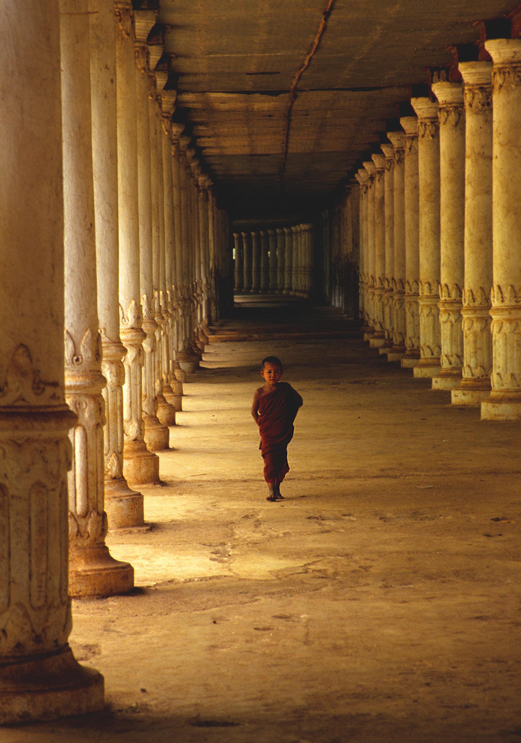 Apprentice monk