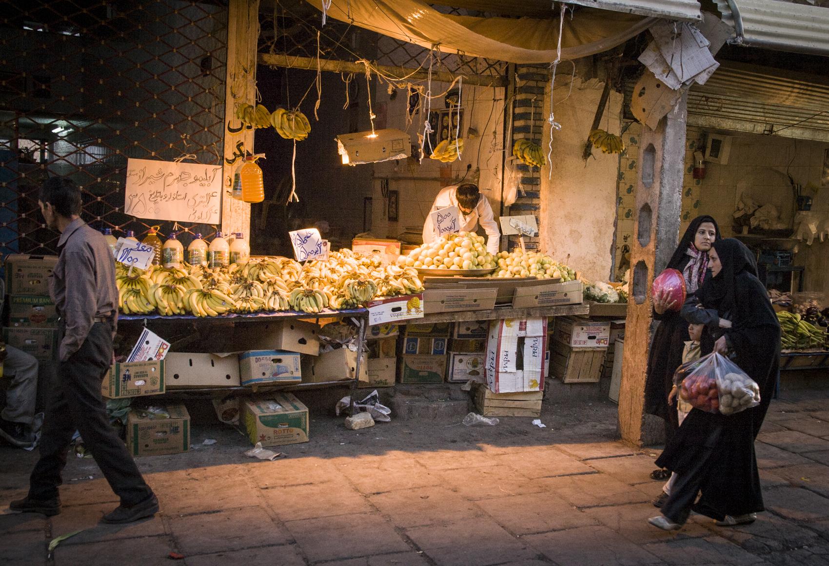 Market, Kerman