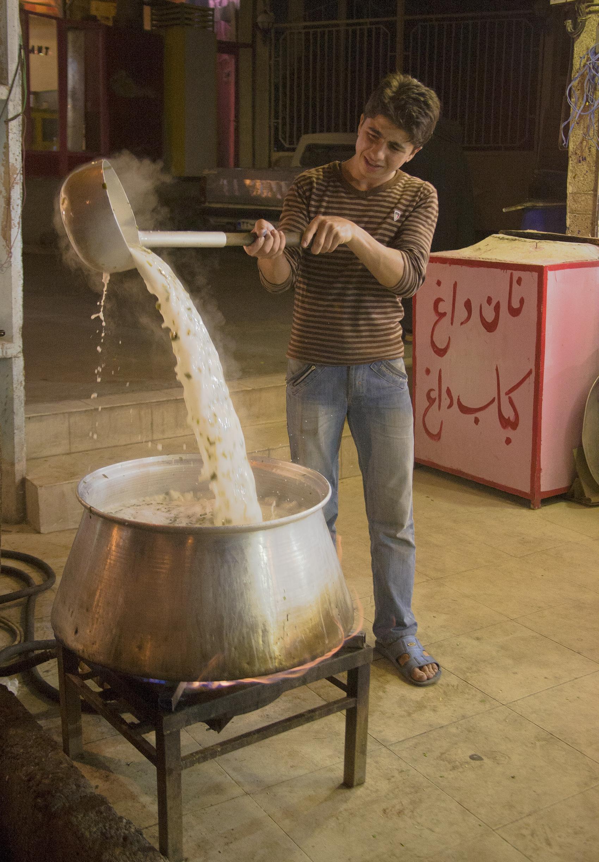 Making soup, Sara'ein